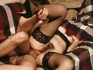 Gabriela the hairy Portuguese maid gets dicked hard and fast