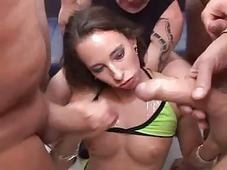 Anal fucking and cumming on hot Swedish chicks