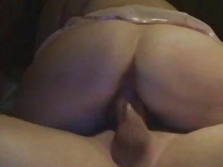 Fat wife loves to ride his hard dick