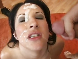 Compilation of best facials with hot chicks
