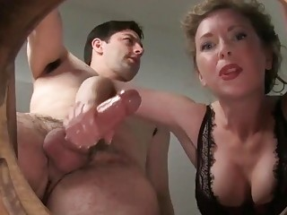 Freaky milf with big tits is a handjob expert compilation