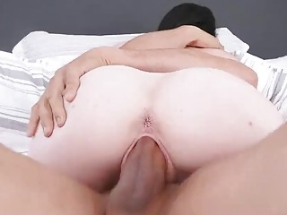 Two girls get fucked hard by two horny older men