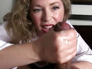 Stunning milf made a lot of great and juicy cumshots