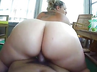 Amateur skanks deep throats hard cock and fucks in POV