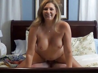 Two kinky MILFs have hardcore banging with big dicked stud