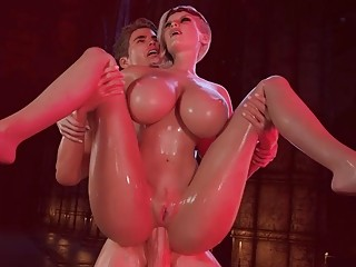 3D animated slut gets rammed in hardcore fashion