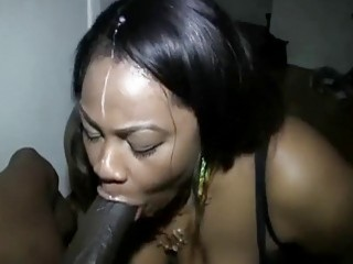 Compilation of ebony beauties pleasuring hard boners