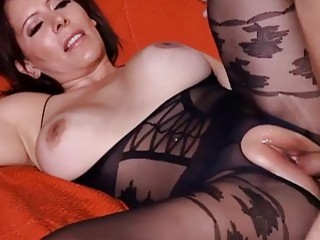 MILF cannot have enough of his dick inside of her