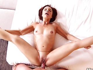 Mature naked babe loves sucking dick and nasty anal fuck